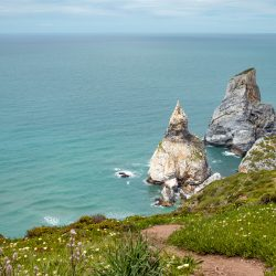 Praia da Ursa, not for the faint-hearted, Portugal