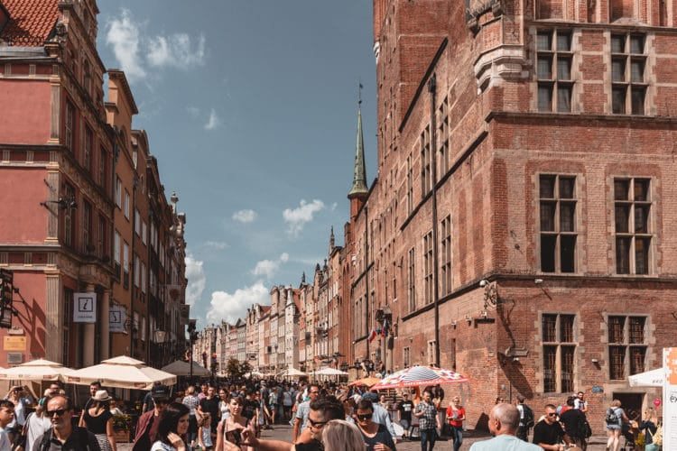 Gdansk city center