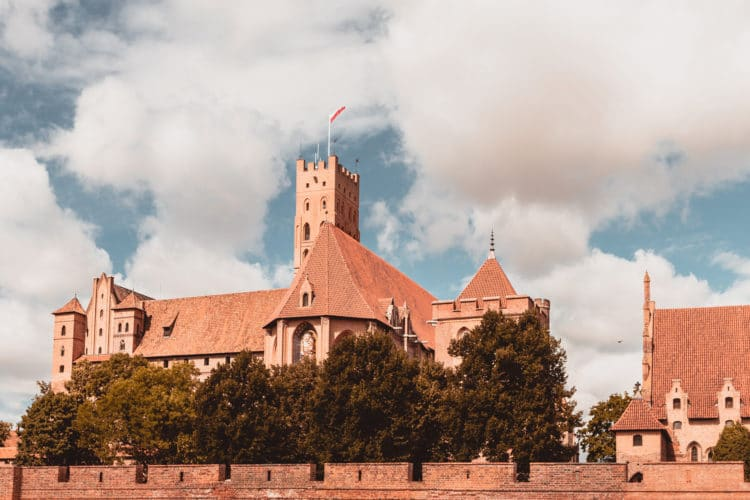 Malbork castle high tower