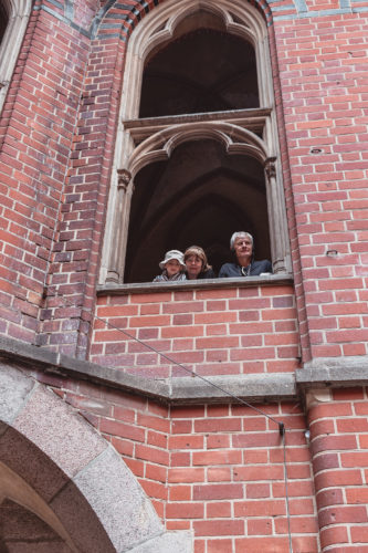window of Malbork castle
