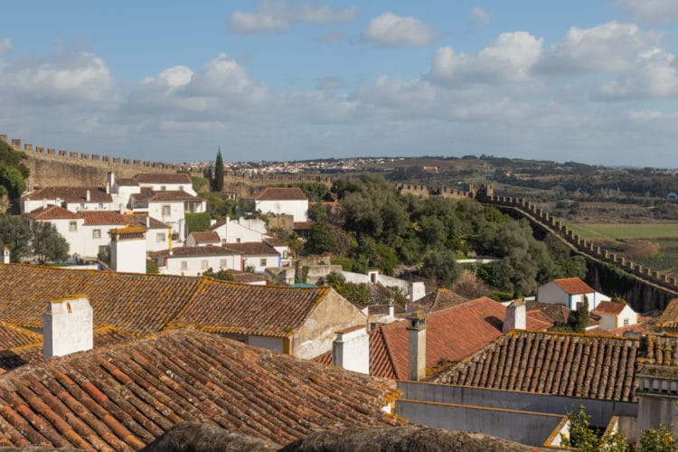 What a beautifull view in Obidos