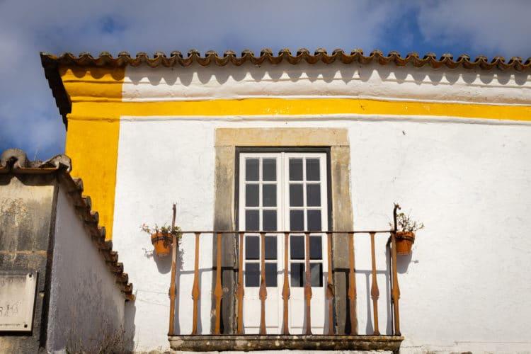 Obidos window detail