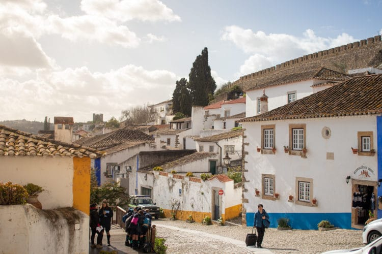 main stree of Obidos