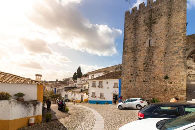 Castle of Obidos - entrance