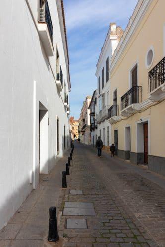 Zafra spain street