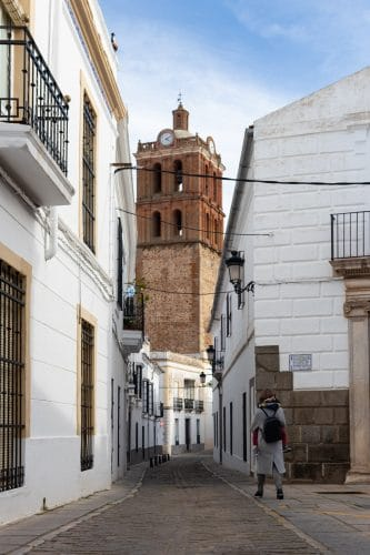 Zafra church tower