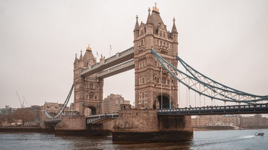 London before coronavirus