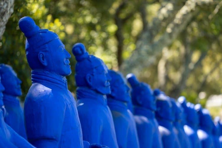 buddha eden terracotta soldiers
