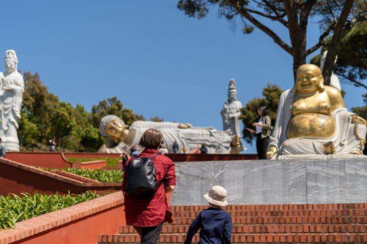 Staircase Budhha Garden