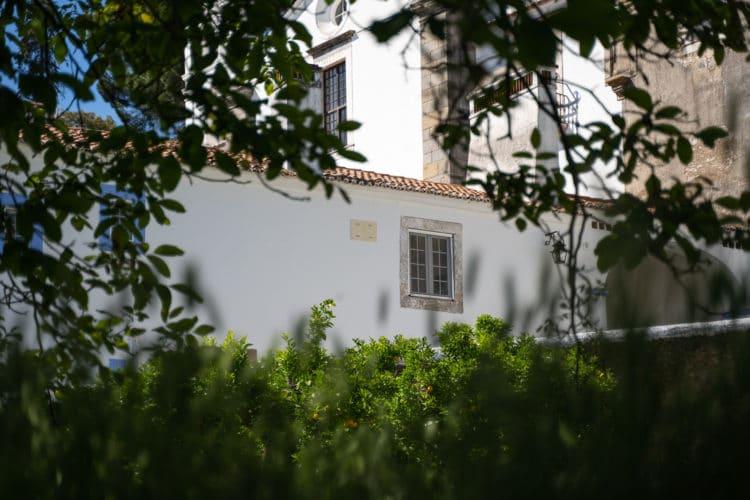 convento de são paulo outside garden