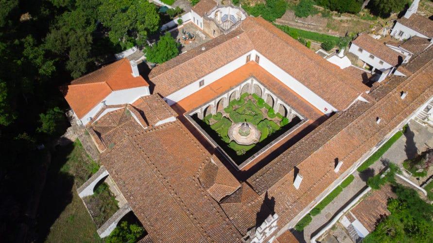 convento de são paulo aerial view