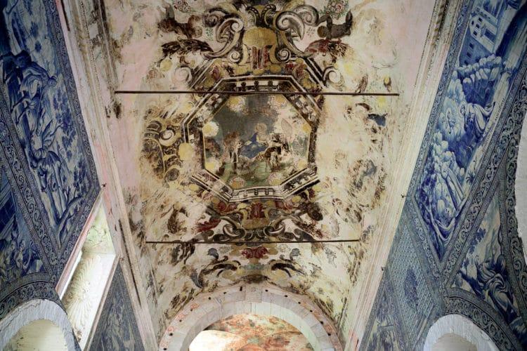 convento de são paulo church ceiling