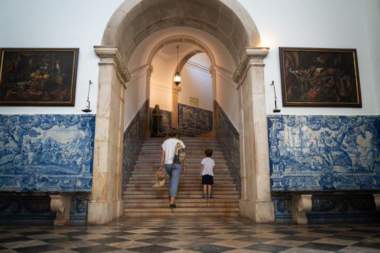 convento de são paulo famous corridor with tiles