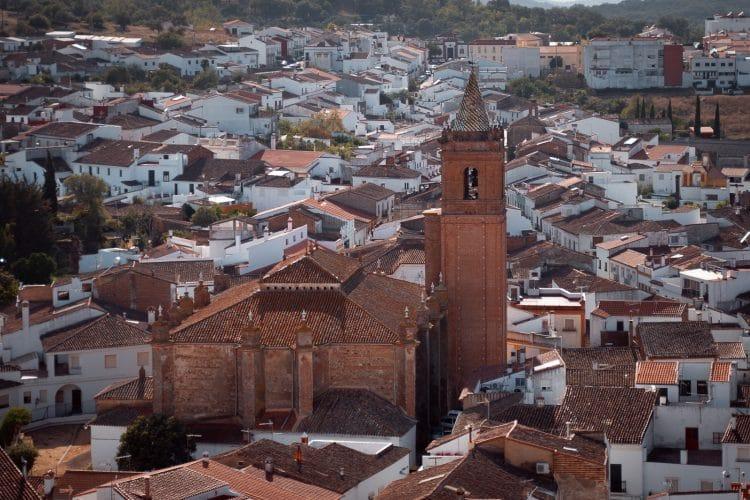 Cortegana Iglesia del Divino Salvador