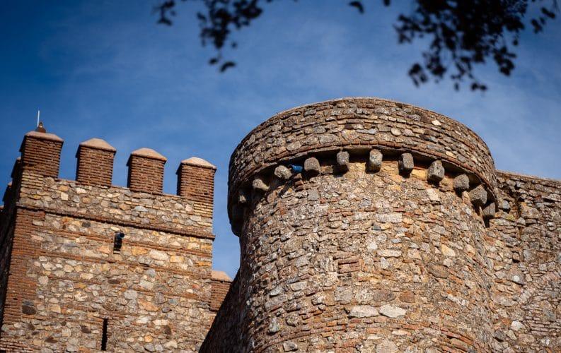 Castle of Cortegana detail