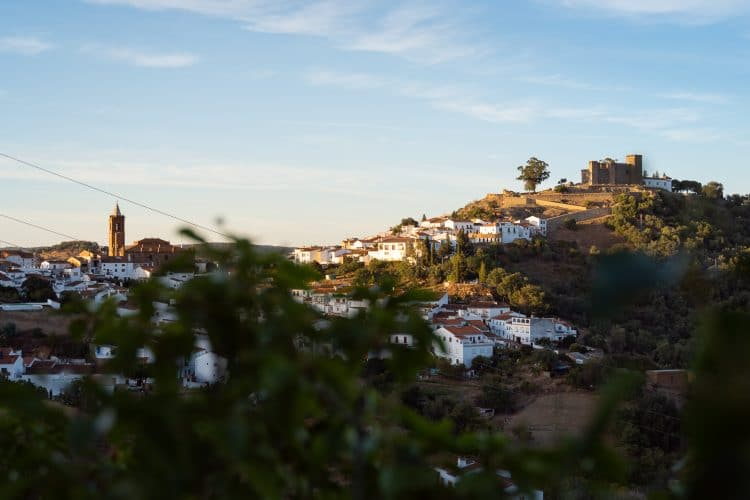 Cortegana view castle