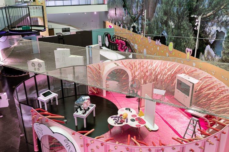 exposições pavilhão do conhecimento